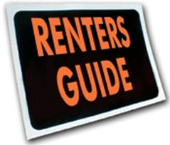 Renters Guide Sign
